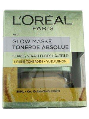L'Oreal Paris Pure Clay Face Mask with Yuzu Lemon - Picture 1