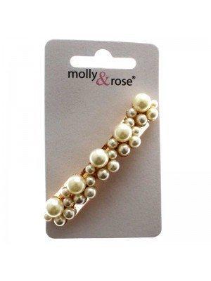 Molly & Rose Hair Clips - Bubbles Design