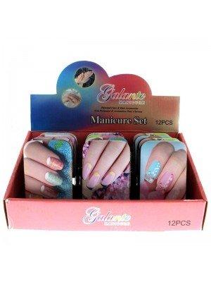 Galante Manicure Set (Nails Design Assorted)- 12 pieces