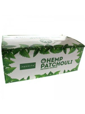 Nandita Hemp Patchouli - Natural Incense Sticks
