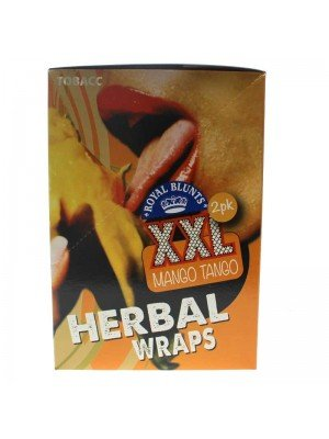 Royal Blunts XXL Mango Tango - Herbal Wraps