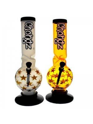 "Chongz Acrylic Bong ""Snake Sharma"" - Assorted designs - 12 inch"
