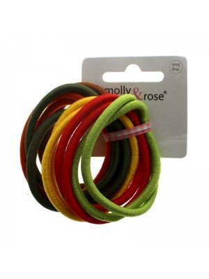 Molly & Rose Soft Stretch Snag Free Endless Elastics - Assorted Colours