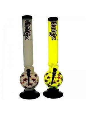 "Chongz Acrylic Bong ""Snake Sharma"" - Assorted designs - 16 inch"