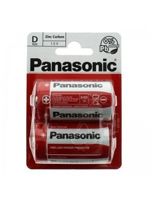 Panasonic Alkaline Batteries - D (1.5 V)