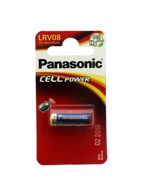 Panasonic Alkaline Cell Power Battery - LRV08 (12 V)