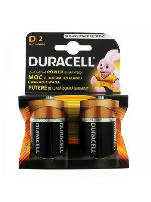 Duracell Plus Power Alkaline Batteries - D (1.5 V)