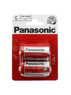 Panasonic Batteries - C (1.5 V)