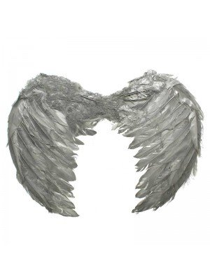 Angel Wings in Silver Colour - 44cm