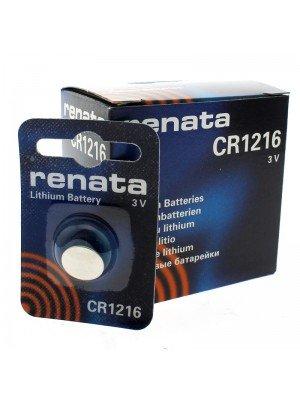 Renata Lithium Batteries - CR1216 (3V)