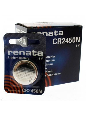 Renata Lithium Batteries - CR2450N (3V)