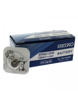 Seiko Silver Oxide Batteries - 364 (1.55V)