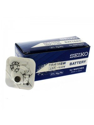 Seiko Silver Oxide Batteries - 337 (1.55V)