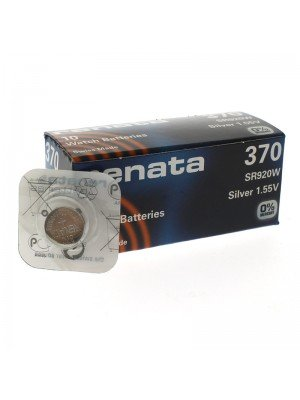 Renata Watch Batteries - 370 (silver 1.55v)