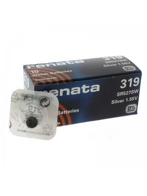 Renata Watch Batteries - 319 (Silver 1.55V)
