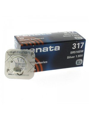 Renata Watch Batteries - 317 (1.55V)