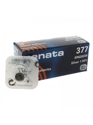 Renata Watch Batteries - 377 (1.55V)
