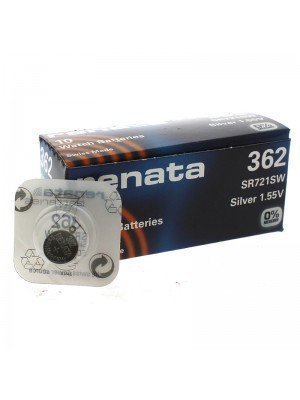 Renata Watch Batteries - 362 (1.55V)