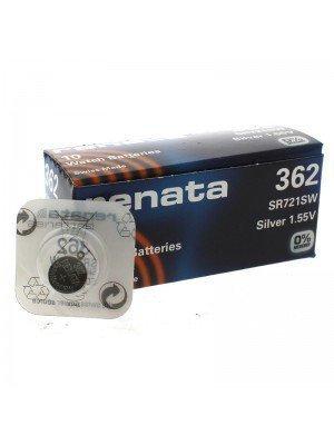 Renata Watch Batteries - 362 (1.55V)
