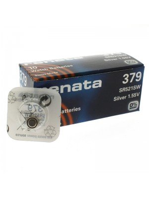 Renata Watch Batteries - 379 (Silver 1.55V)