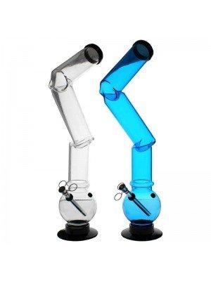 Acrylic Bong Plain Design - 17 Inch