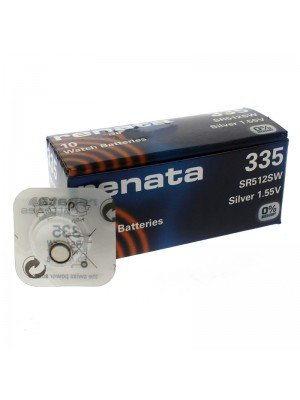 Renata Watch Batteries - 335 (1.55V) (C)