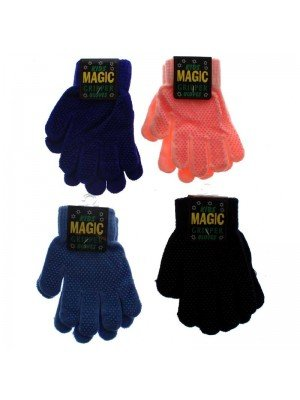 Kids Magic Gripper Gloves - Assorted Colours