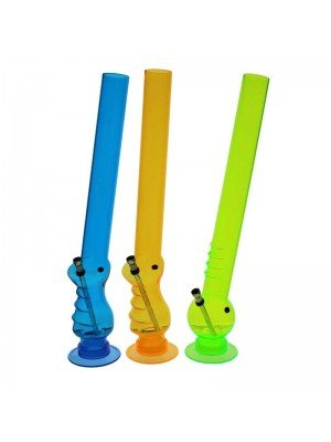 Acrylic Bong Assorted Design - 20 Inch (Assorted Colour)