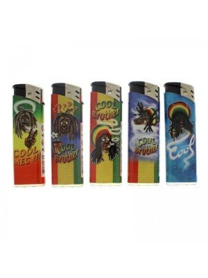 PROF Cool Brother Electronic Lighter - Assorted Designs