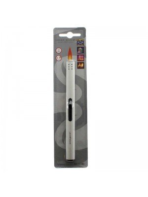 Silver Match Multi-Function Refillable Utility Lighter - Assorted Colours