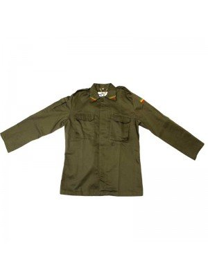 Rasta Shirt Jacket - Khaki Green (M, L, XL, XXL)