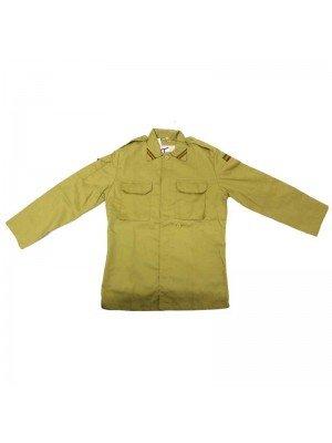 Rasta Shirt Jacket - Beige (M, L, XL, XXL)