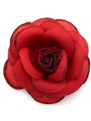 Wholesale Fabric Crimson Red Roses
