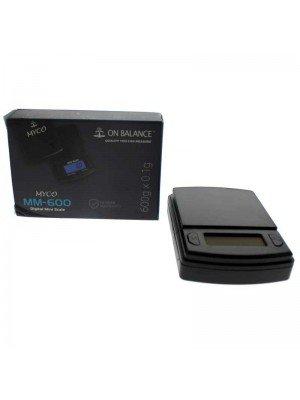 On Balance Myco MY-600 Digital Pocket Scale (600g x 0.1g)