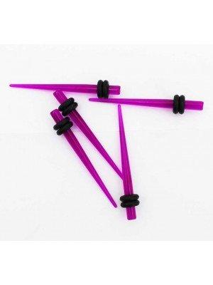 Expanders/Stretchers 3mm -Purple