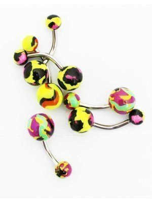 Wholesale Screw-able Belly Bars - Assorted