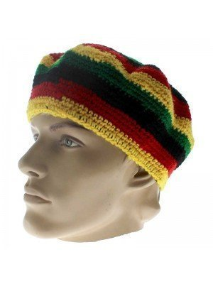 Unisex Knitted Rasta Hat