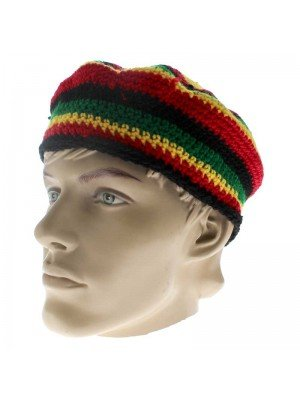 Unisex Knitted Rasta Hat - Design 3