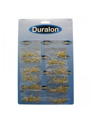 Duralon Gold Safety Pins
