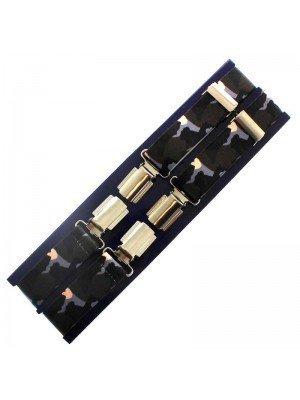 Men's Braces Camouflage Design - 25mm Wide