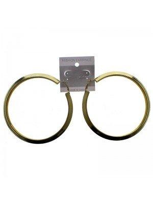 Gold Hoop Earrings - 10cm