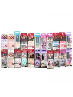 Wholesale Impress Gel Manicure False Nails - Assorted