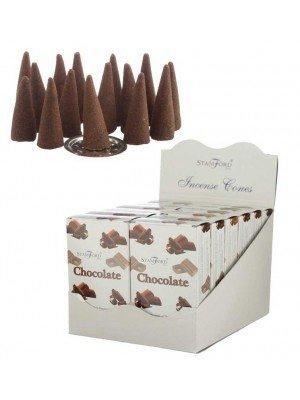 Wholesale Stamford Incense Cones - Chocolate