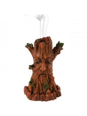 Incense Burner (Green Man) - 12cm