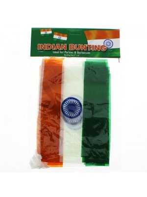 "Wholesale India Bunting Flags 12ft 9""x6"""