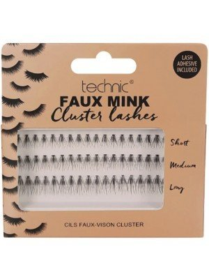 Wholesale Technic Faux Mink Individual Cluster Lashes