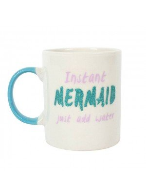 Instant Mermaid Glitter Ceramic Mug