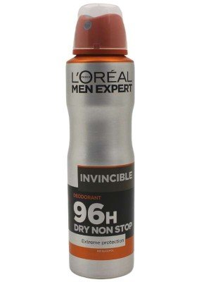 L'Oreal Paris Men Expert Invincible 96H Dry Non Stop Deodorant- 150ml