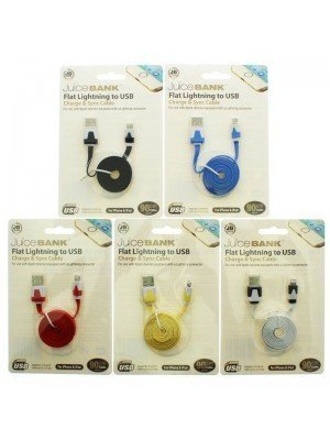 Wholesale iPhone / iPad USB High Speed Lightning Cable - Assorted Colours