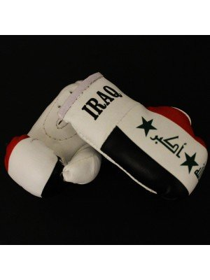 Mini Boxing Gloves - Iraq